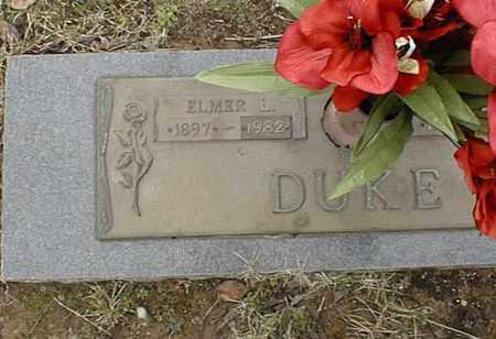 DUKE, ELMER L - Bowie County, Texas | ELMER L DUKE - Texas Gravestone Photos