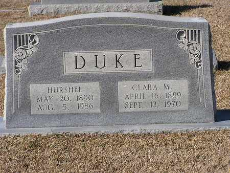 DUKE, CLARA M - Bowie County, Texas | CLARA M DUKE - Texas Gravestone Photos