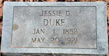 DUKE, JESSIE D - Bowie County, Texas | JESSIE D DUKE - Texas Gravestone Photos