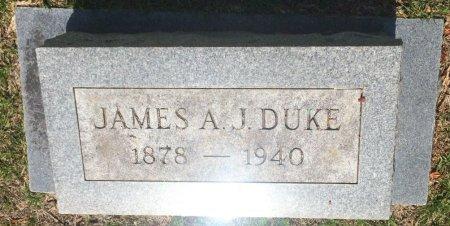 DUKE, JAMES A J - Bowie County, Texas | JAMES A J DUKE - Texas Gravestone Photos