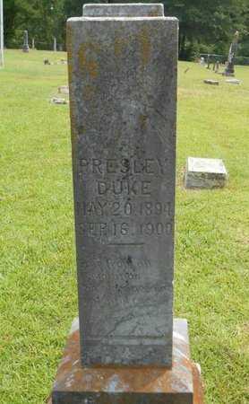 DUKE, PRESLEY - Bowie County, Texas   PRESLEY DUKE - Texas Gravestone Photos