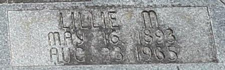 CARTILEDGE DUNN, LILLIE M (CLOSEUP) - Bowie County, Texas | LILLIE M (CLOSEUP) CARTILEDGE DUNN - Texas Gravestone Photos
