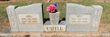 ESTELL, BILL - Bowie County, Texas | BILL ESTELL - Texas Gravestone Photos
