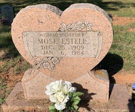 ESTELL, MOSE - Bowie County, Texas | MOSE ESTELL - Texas Gravestone Photos