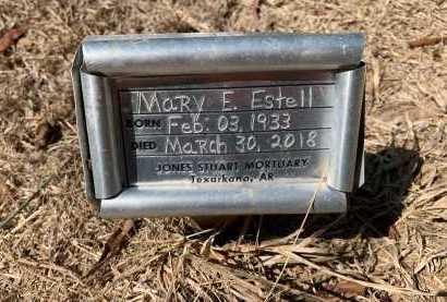 ESTELL, MARY E (FHM) - Bowie County, Texas | MARY E (FHM) ESTELL - Texas Gravestone Photos