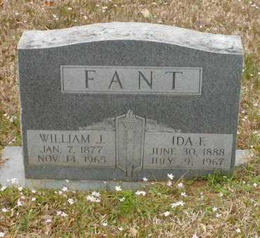 FANT, IDA E - Bowie County, Texas | IDA E FANT - Texas Gravestone Photos