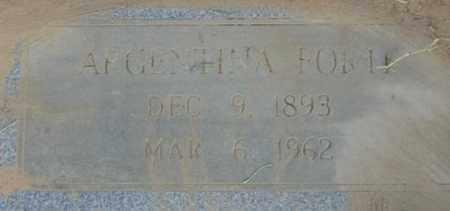 FORTE, ARGENTINA - Bowie County, Texas | ARGENTINA FORTE - Texas Gravestone Photos