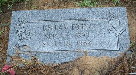FORTE, DELLAR - Bowie County, Texas | DELLAR FORTE - Texas Gravestone Photos