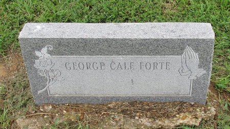 FORTE, GEORGE CALE - Bowie County, Texas | GEORGE CALE FORTE - Texas Gravestone Photos