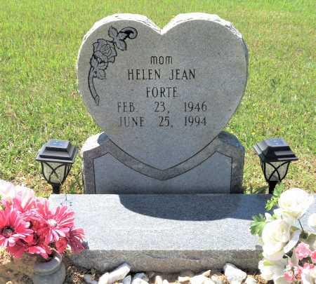 FORTE, HELEN JEAN - Bowie County, Texas | HELEN JEAN FORTE - Texas Gravestone Photos