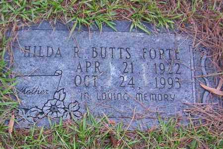 FORTE, HILDA R - Bowie County, Texas | HILDA R FORTE - Texas Gravestone Photos