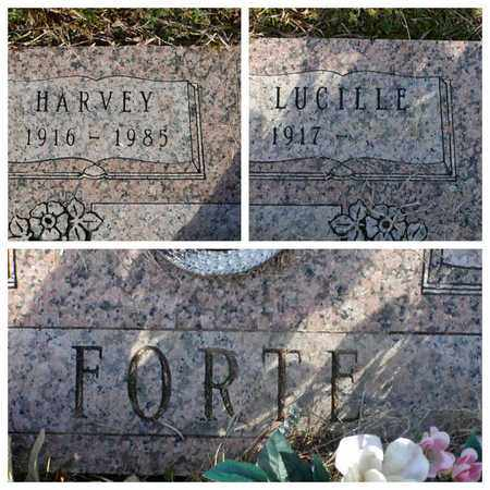 FORTE, HARVEY - Bowie County, Texas | HARVEY FORTE - Texas Gravestone Photos