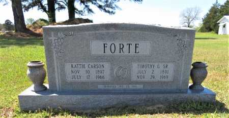 FORTE, KATTIE - Bowie County, Texas | KATTIE FORTE - Texas Gravestone Photos