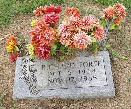 FORTE, RICHARD - Bowie County, Texas | RICHARD FORTE - Texas Gravestone Photos