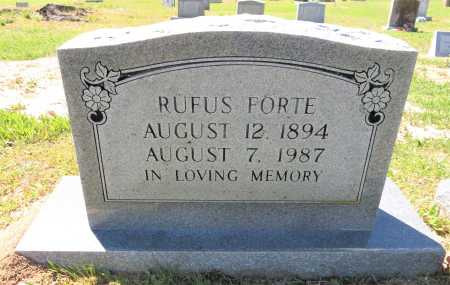FORTE, RUFUS - Bowie County, Texas | RUFUS FORTE - Texas Gravestone Photos