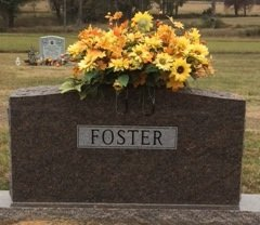 FOSTER, FAMILY MARKER - Bowie County, Texas | FAMILY MARKER FOSTER - Texas Gravestone Photos