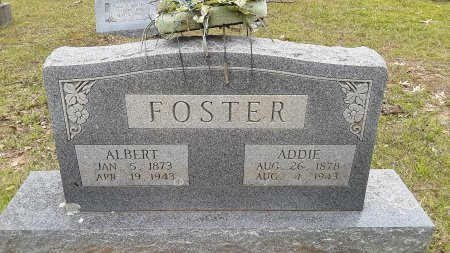 FOSTER, ADDIE - Bowie County, Texas | ADDIE FOSTER - Texas Gravestone Photos