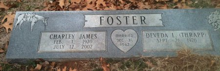 FOSTER, CHARLES JAMES - Bowie County, Texas | CHARLES JAMES FOSTER - Texas Gravestone Photos