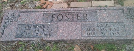 FOSTER, JESSIE - Bowie County, Texas | JESSIE FOSTER - Texas Gravestone Photos