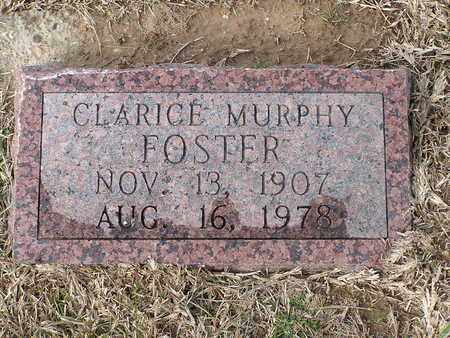 FOSTER, CLARICE MURPHY - Bowie County, Texas | CLARICE MURPHY FOSTER - Texas Gravestone Photos