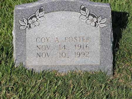FOSTER, COY A - Bowie County, Texas | COY A FOSTER - Texas Gravestone Photos