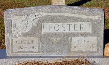 FOSTER, CHARLIE - Bowie County, Texas | CHARLIE FOSTER - Texas Gravestone Photos