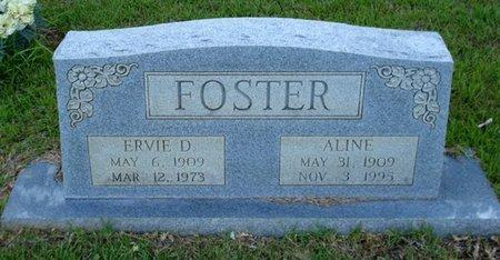 FOSTER, ERVIE D - Bowie County, Texas | ERVIE D FOSTER - Texas Gravestone Photos