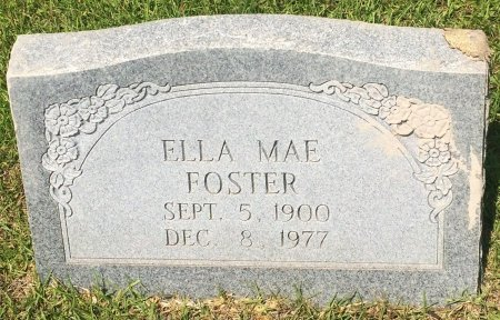 FOSTER, ELLA MAE - Bowie County, Texas | ELLA MAE FOSTER - Texas Gravestone Photos