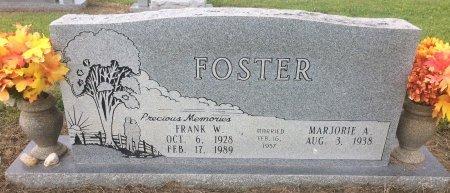 FOSTER, FRANK W - Bowie County, Texas | FRANK W FOSTER - Texas Gravestone Photos