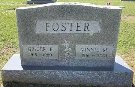 FOSTER, GRIDER B - Bowie County, Texas | GRIDER B FOSTER - Texas Gravestone Photos