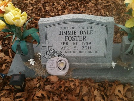 FOSTER, JIMMIE DALE - Bowie County, Texas | JIMMIE DALE FOSTER - Texas Gravestone Photos