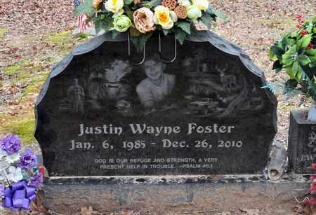 FOSTER, JUSTIN WAYNE - Bowie County, Texas | JUSTIN WAYNE FOSTER - Texas Gravestone Photos
