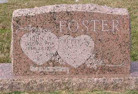 FOSTER, JOHN Q - Bowie County, Texas | JOHN Q FOSTER - Texas Gravestone Photos