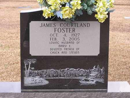 FOSTER, JAMES COURTLAND - Bowie County, Texas | JAMES COURTLAND FOSTER - Texas Gravestone Photos