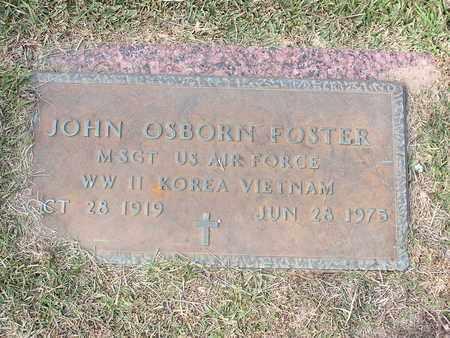FOSTER (VETERAN 3 WARS), JOHN OSBORN - Bowie County, Texas | JOHN OSBORN FOSTER (VETERAN 3 WARS) - Texas Gravestone Photos