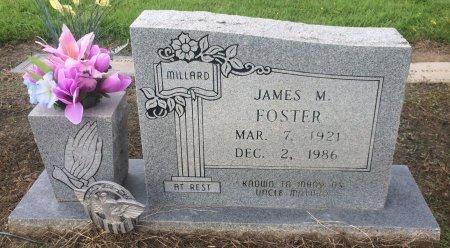 FOSTER, JAMES M - Bowie County, Texas | JAMES M FOSTER - Texas Gravestone Photos
