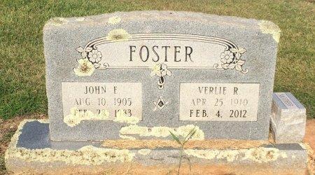 FOSTER, JOHN E - Bowie County, Texas | JOHN E FOSTER - Texas Gravestone Photos
