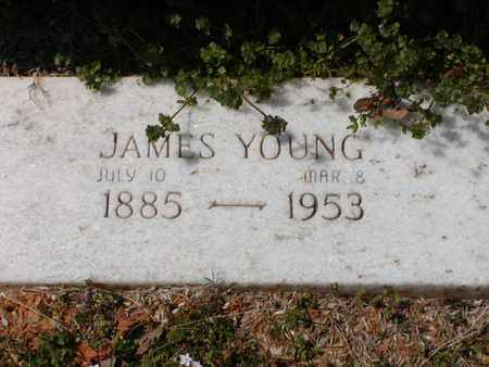 FOSTER, JAMES YOUNG (CLOSEUP) - Bowie County, Texas | JAMES YOUNG (CLOSEUP) FOSTER - Texas Gravestone Photos