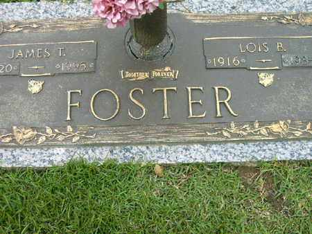 FOSTER, JAMES T - Bowie County, Texas | JAMES T FOSTER - Texas Gravestone Photos