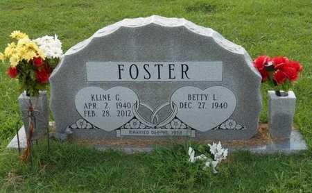 FOSTER, KLINE G. - Bowie County, Texas | KLINE G. FOSTER - Texas Gravestone Photos