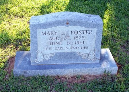 FOSTER, MARY - Bowie County, Texas | MARY FOSTER - Texas Gravestone Photos