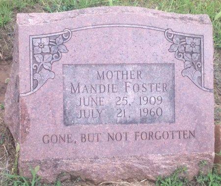 FOSTER, MANDIE  - Bowie County, Texas | MANDIE  FOSTER - Texas Gravestone Photos