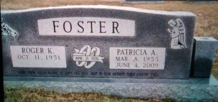 FOSTER, ROGER K - Bowie County, Texas | ROGER K FOSTER - Texas Gravestone Photos