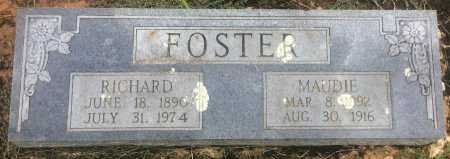 FOSTER, MAUDIE - Bowie County, Texas | MAUDIE FOSTER - Texas Gravestone Photos