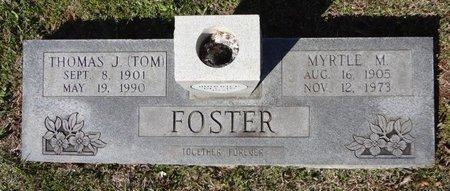 FOSTER, MYRTLE M - Bowie County, Texas | MYRTLE M FOSTER - Texas Gravestone Photos