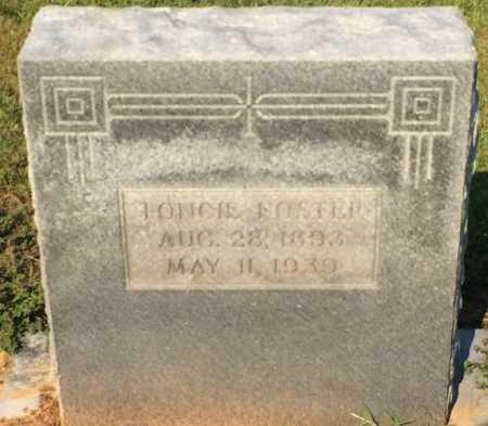 FOSTER, TONCIE - Bowie County, Texas | TONCIE FOSTER - Texas Gravestone Photos