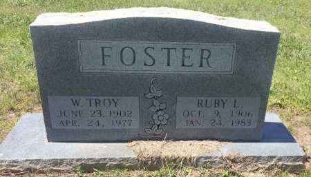 FOSTER, W TROY - Bowie County, Texas | W TROY FOSTER - Texas Gravestone Photos