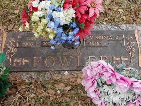 FOWLER, LEE ROY - Bowie County, Texas | LEE ROY FOWLER - Texas Gravestone Photos