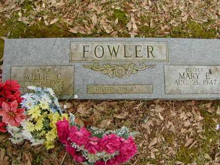 FOWLER, WILLIE C - Bowie County, Texas   WILLIE C FOWLER - Texas Gravestone Photos