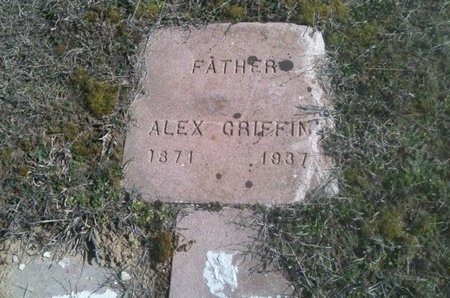 GRIFFIN, ALEX - Bowie County, Texas | ALEX GRIFFIN - Texas Gravestone Photos
